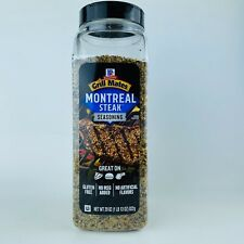1 Bottle McCormick Grill Mates Montreal Steak Seasoning 29 oz No MSG Gluten Free