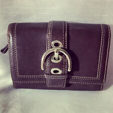 A Very Cute Vintage Brown Classic Leather Coach Wallet