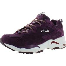 Fila Womens Ray Tracer Suede Padded Insole Running Shoes Sneakers BHFO 6543