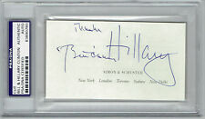 Bill AND Hillary Clinton SIGNED Cut Auto Autograph PSA Slabbed President RARE!