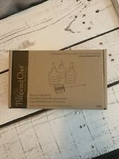 The Pampered Chef Decorator Bottle Set - Cake Cupcake cookies Icing Decor #1585