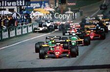 Gerhard Berger Ferrari F1/87 Austrian Grand Prix 1987 Photograph