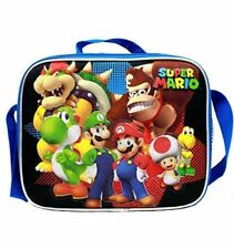 Super Mario Insulated Lunch Bag Snack Bag