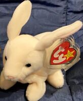 TY Beanie Baby Nibbler the Rabbit *MWMT*