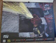 2 stunning LeMans, F1, DTM & Rally original racing art calendars: 1995-96