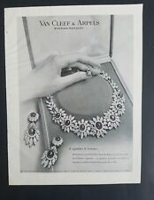 1960 Van Cleef & Arpels diamond necklace jewelry a signature to treasure ad