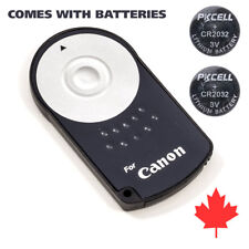 Canon Wireless Remote Control IR RC-6 5D 6D 7D T2i T3i T3 T5i T5 with 2x Battery