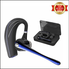 Best Wireless Headphone Blue Headset Bluetooth Truck Driver Noise Cancelling.