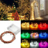 20/50/100 LED 10M DIY Fairy Lights Battery Powered String Copper Wire Waterproof