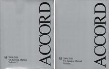2008 - 2010 Honda Accord Factory Service Repair Maintenance Manual 2 vol 61TA600