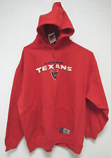 NWT NFL ORIGINALS RED HOODED SWEATSHIRT - HOUSTON TEXANS - LARGE