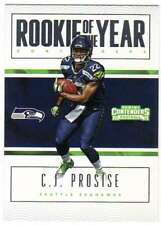 2016 Panini Contenders Rookie of the Year Contenders #17 C.J. Prosise Seahawks