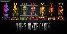INSANE CLOWN POSSE 7 Joker Cards fridge magnet - new!