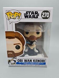 OBI WAN KENOBI STAR WARS FUNKO POP 270 CLONE WARS STAR WARS POP #270