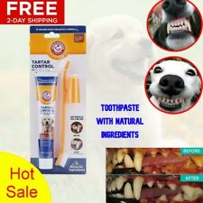 Dental Care Tartar Control Kit Dogs Toothpaste Toothbrush Finger Brush Plaque