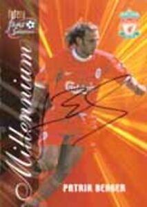 Patrik Berger - Liverpool - Signed Trading Card - COA (19015)