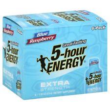 5-Hour Energy Extra Strength Blue Raspberry 6-Pack (6 - 1.93floz Bottles)