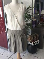 Robe IKKS I CODE taille 42 bon etat Lin