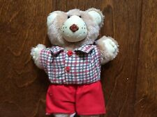 Furskins Boy Vintage 80s Plush Stuffed Animal Bear