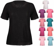 Polyester Stretch Tops for Women