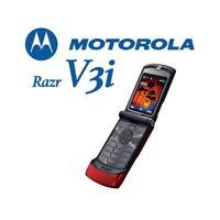 TELEFONO CELLULARE MOTOROLA RAZR V3i ROSSO GSM FOTOCAMERA BLUETOOTH.