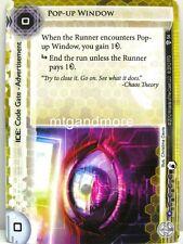 Android Netrunner LCG - 1x Pop-Up Window #054 - Cyber War Corporation Draft Pack
