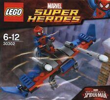 LEGO MARVEL SUPER HEROES SPIDER-MAN movie minifig GLIDER Plane set 30302 NEW  @