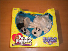 1996 GALOOB POUND PUPPIES BRIDE AND GROOM WEDDING MIB SEALED