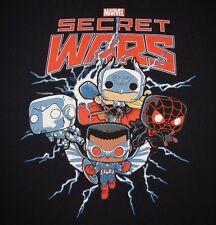 MARVEL - SECRET WARS - Men's (fits like) size M - Graphic T-Shirt- FREE SHIPPING