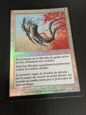 MTG MAGIC LEGIONS WARD SLIVER (FRENCH SLIVOIDE DE GARDE) NM FOIL