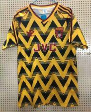 1991-92 Arsenal Away Retro Jersey Tshirt Soccer Sport Vintage