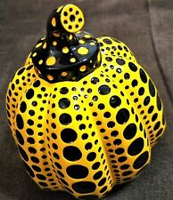 Yayoi Kusama Pumpkin Yellow Sculpture Auth Japan Pop Culture Art New F/S track