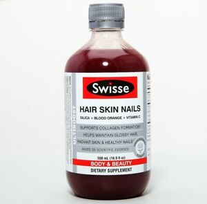 Swisse Hair Skin Nails Silica Blood Orange Vitamin C Body & Beauty Di Supplement