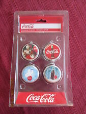 Coca Cola Nip 4 Christmas Ornaments Kurt S Adler 2010 Santa's World