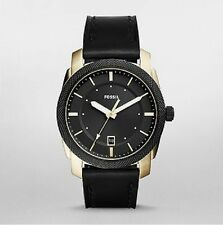 Fossil Watch FS5263 Men's Watch Black Leather 42mm Case 5ATM WR RRP$229