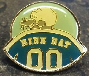 Rink Rat Hockey 00 Jersey pin badge