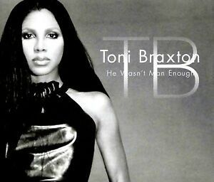 He Wasn't Man Enough [Single] by Toni Braxton (CD)