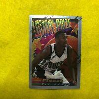 VIN BAKER , BUC , 1995 TOPPS FINEST , LOTTERY PRIZE INSERT BASKETBALL CARD LP 22