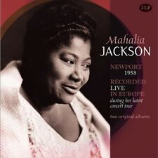 MAHALIA JACKSON - 2 ORIGINAL ALBUMS: RECORDED LIVE... 2 VINYL LP NEUF