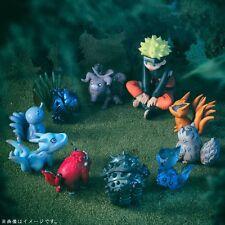 Naruto Uzumaki Naruto tail beast 10PCS SET PVC Figures toy doll gift NEW
