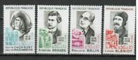 s25081) FRANCE 1972 MNH** Famous persons 4v