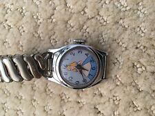 Vintage Disney Wristwatch c 1951 U.S Time with Alice on the Face