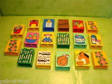 Lego duplo: Lot de 17 briques duplo avec motifs décors