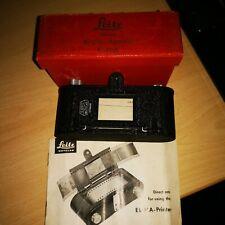 Leitz Wetzlar Eldia Contact Camera Film Printer