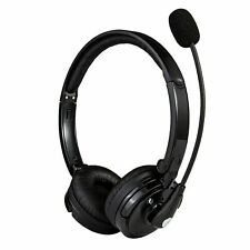 New listing Noise Cancelling Headphone Wireless Bluetooth Headset With Boom Mic for Trucker