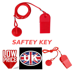 UK NEW RED Safety LOCK Key FOR Universal Treadmill Magnetic Security Switch Lock