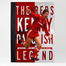 Tableta iPad caso de cuero firmará Liverpool cubierta de la leyenda del fútbol regalo LG48