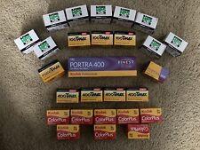 New listing 35mm Film Lot Of Brand New Film (31 Rolls)