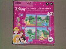 MARKS & SPENCER 64 Large Piece Jigsaw Puzzle DISNEY PRINCESS - ENCHANTED GARDEN
