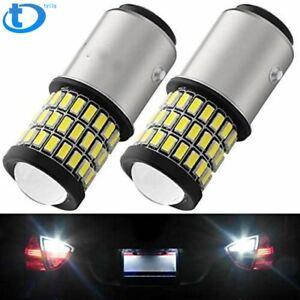 2x 1157 2057 2357 7528 BAY15D LED Bulb for Back Up Reverse Lights or Tail Lights